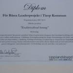 För bästa Leaderprojekt i Tierps kommun